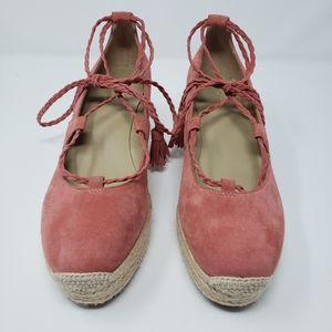 Ann Taylor Espadrille Wedge Heels.